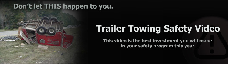Trailer Towing Safety Video header